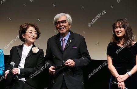Chieko Baisho, Yoji Yamada and Kumiko Goto