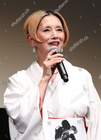 Editorial image of 'Tora-san, Wish You Were Here' film press conference, Tokyo International Film Festival, Japan - 28 Oct 2019