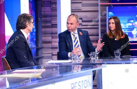 Robert Peston, Gavin Barwell, Melanie Onn MP,