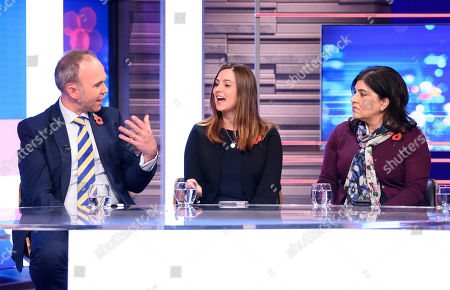 Editorial photo of 'Peston' TV show, Series 3, Episode 10, London, UK - 30 Oct 2019