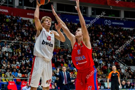 Editorial picture of CSKA Moscow v Olympiacos Piraeus, Turkish Airlines Euroleague, Basketball, Moscow, Russia - 30 Oct 2019