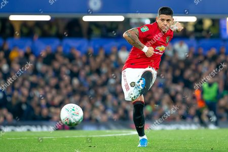 Marcos Rojo of Manchester United in action
