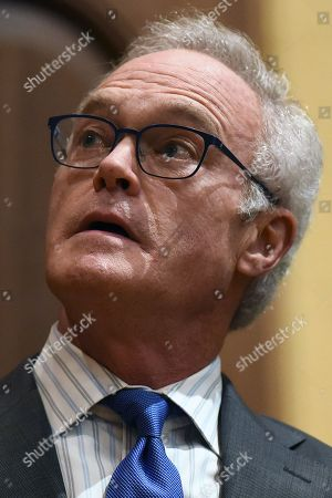 Stock Image of CBS News journalist and author Scott Pelley
