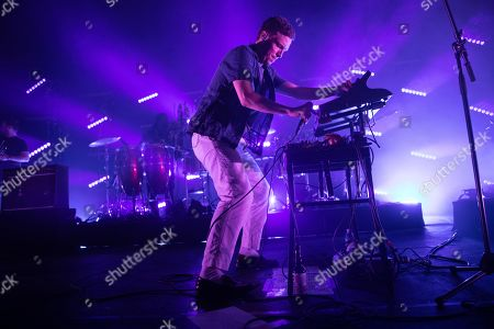 Editorial photo of Friendly Fires in concert at the Roundhouse, London, UK - 30 Oct 2019