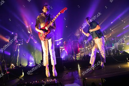 Editorial picture of Friendly Fires in concert at the Roundhouse, London, UK - 30 Oct 2019