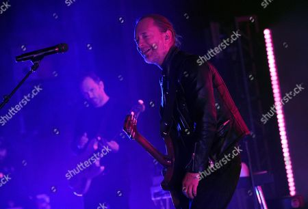 Thom Yorke performs at the Greek Theatre, in Los Angeles