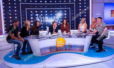 Editorial picture of 'Good Morning Britain' TV show, London, UK - 31 Oct 2019