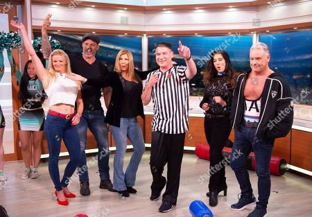 Kim Betts (Gladiator Lightning), James Crossley (Gladiator Hunter), Helen O'Reilly (Gladiator Panther), Richard Arnold, Diane Youdale (Gladiator Jet), Michael Willson (Gladiator Cobra)