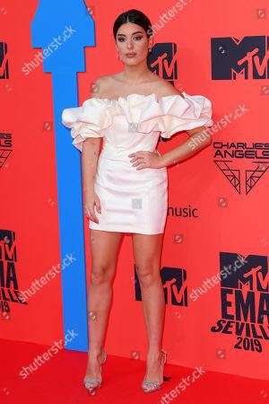 Editorial image of 26th MTV EMA, Arrivals, Seville, Spain - 03 Nov 2019