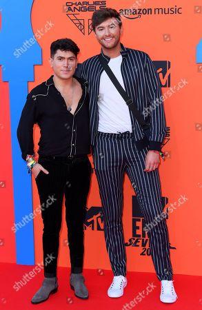 Mark Ferris and Luke Franks