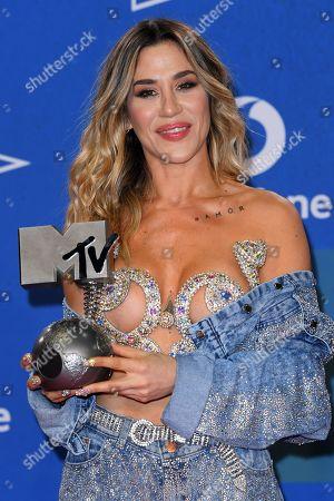 Editorial image of 26th MTV EMA, Press Room, Seville, Spain - 03 Nov 2019