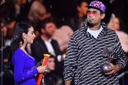 Georgina Rodriguez and DJ Afrojack