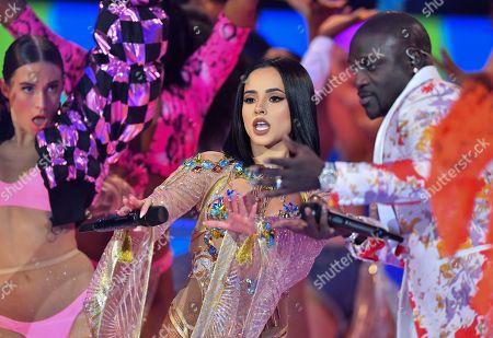 Becky G and Akon
