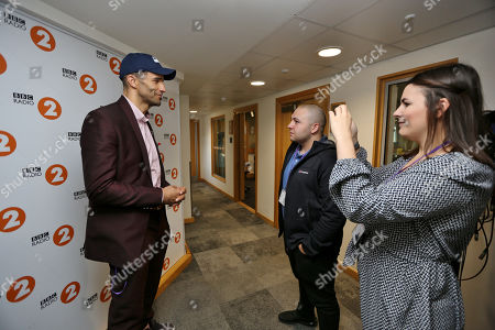 David James interviewed before the Carabao Cup trophy draw