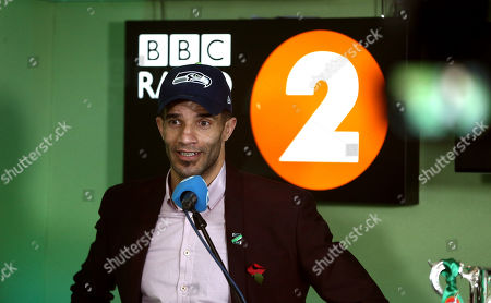 David James during the Carabao Cup trophy draw