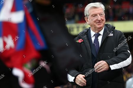 Stock Picture of Roy Hodgson manager of Crystal Palace