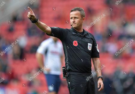 David Webb match referee