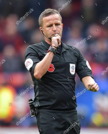 Stock Picture of David Webb match referee