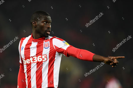 Badou Ndiaye of Stoke City.