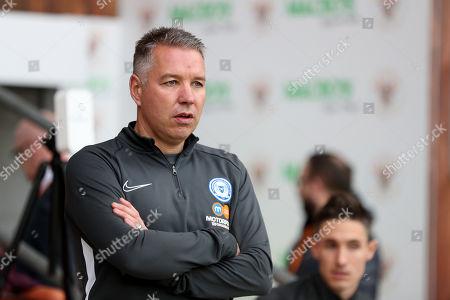 Stock Photo of Peterborough United manager Darren Ferguson