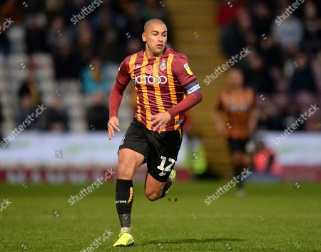 James Vaughan of Bradford City