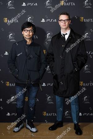 Stock Photo of Hideo Kojima and Nicolas Winding Refn