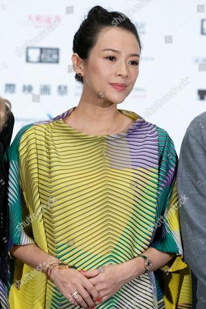 Jury chair of TIFF (Tokyo International Film Festival) actress Zhang Ziyi