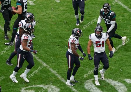 Editorial image of Houston Texans v Jacksonville Jaguars, NFL, American Football, Wembley Stadium, London, UK - 03 Nov 2019