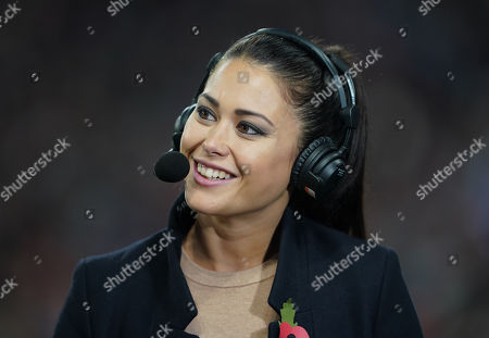 BBC TV presenter Sam Quek
