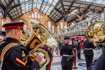 Editorial image of Poppy Day launch, London, UK - 31 Oct 2019
