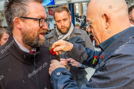 Editorial photo of Poppy Day launch, London, UK - 31 Oct 2019