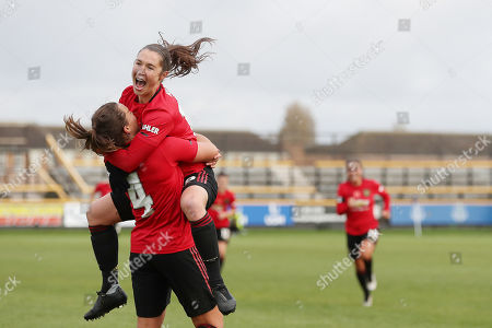 Editorial picture of Everton Women v Manchester United Women, Barclays FA Women's Continental League Cup, Football, The Pure Stadium, Southport, UK - 03 Nov 2019