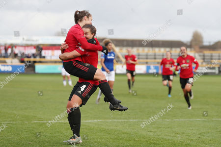 Editorial image of Everton Women v Manchester United Women, Barclays FA Women's Continental League Cup, Football, The Pure Stadium, Southport, UK - 03 Nov 2019