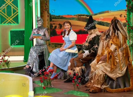 Trinny Woodall, Holly Willoughby, Phillip Schofield and Alison Hammond