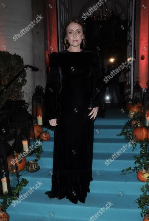 Editorial photo of The UNICEF Halloween Ball, London, UK - 30 Oct 2019