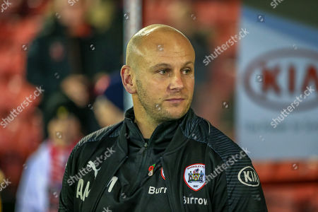 1st November 2019, Oakwell, Barnsley, England; Sky Bet Championship, Barnsley v Bristol City : Adam Murray caretaker manager of Barnsley FC  before the game