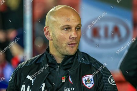 1st November 2019, Oakwell, Barnsley, England; Sky Bet Championship, Barnsley v Bristol City : Adam Murray caretaker manager of Barnsley FC before the match