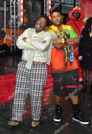 Al Roker as Carlton Banks and Craig Melvin as Will Smith from 'The Fresh Prince of Bel-Air'