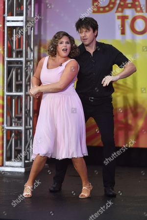 Jenna Bush and Willie Geist