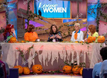Christine Lampard, Brenda Edwards, Jane McDonald, Jane Moore and Kaye Adams