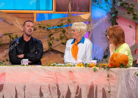 Stock Photo of Paddy McGuinness, Jane Moore with Kaye Adams