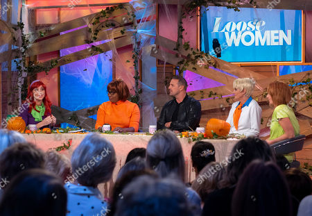 Editorial picture of 'Loose Women' TV show, London, UK - 31 Oct 2019
