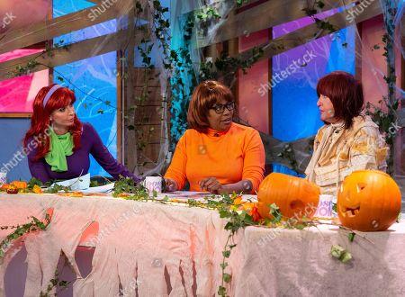 Christine Lampard, Brenda Edwards, Janet Street-Porter