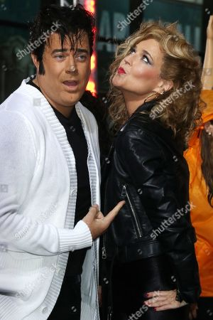 Stock Image of Carson Daly and Savannah Guthrie