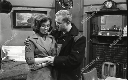 Eileen Mayers (as Sheila Birtles) and Graham Haberfield (as Jerry Booth)