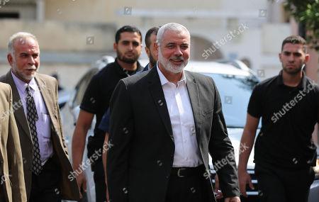Palestinian Hamas chief in the Gaza strip, Ismail Haniyeh
