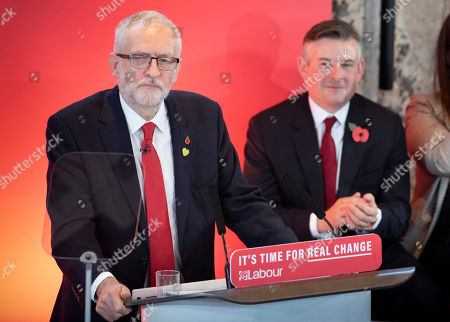 Editorial picture of Labour election campaign launch, London, UK - 31 Oct 2019