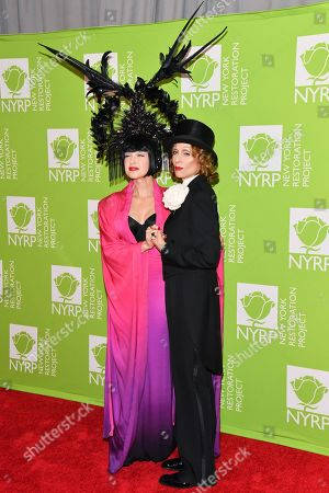 Stock Image of Cyndi Lauper and Judith Light