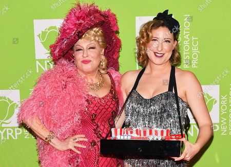 Stock Photo of Bette Midler and Sophie von Haselberg