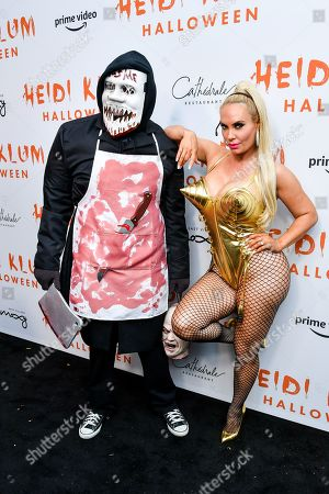 Editorial image of Heidi Klum's 20th Annual Halloween Party presented by Amazon Prime Video and SVEDKA Vodka, Arrivals, Cathedral Restaurant at Moxy East Village Hotel, New York, USA - 31 Oct 2019